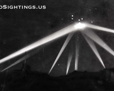 UFO Sighting in Los Angeles 1942