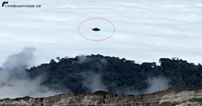 ufo at costa rica volcano