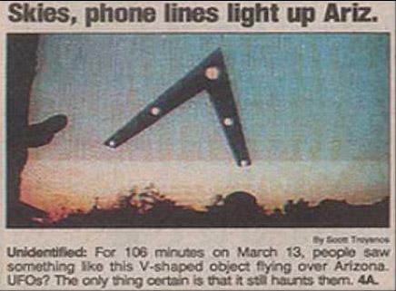 phoenix lights 1997