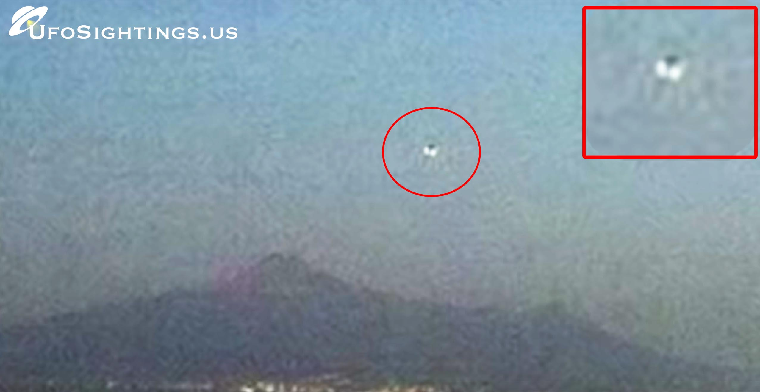 ufo over popocatepetl volcano