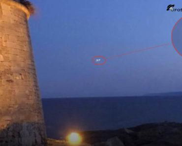 UFO spotted in porto Maggiano