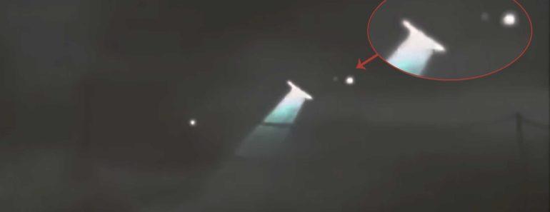 Alien Spaceship Over Paris