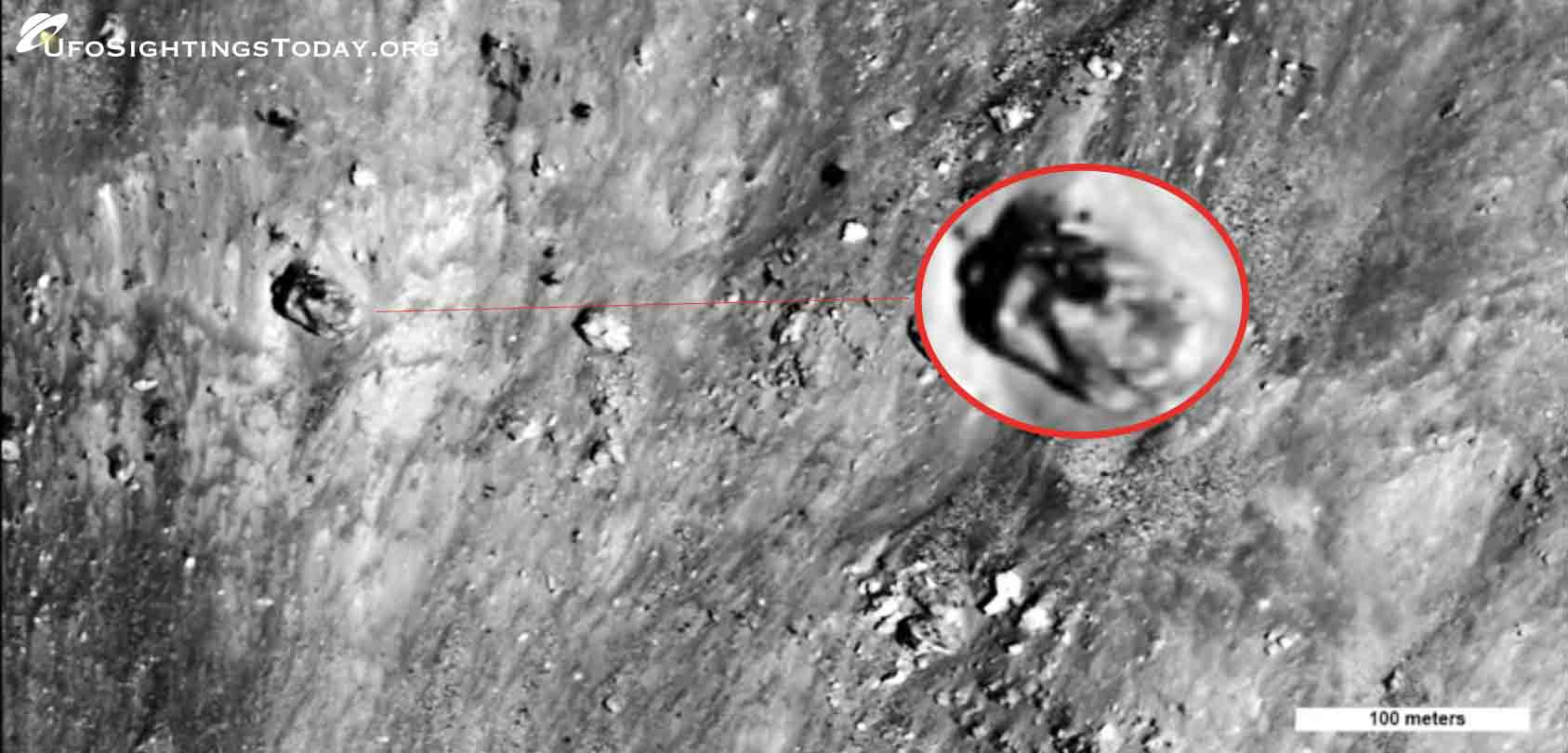ancient tank discovered on the moon