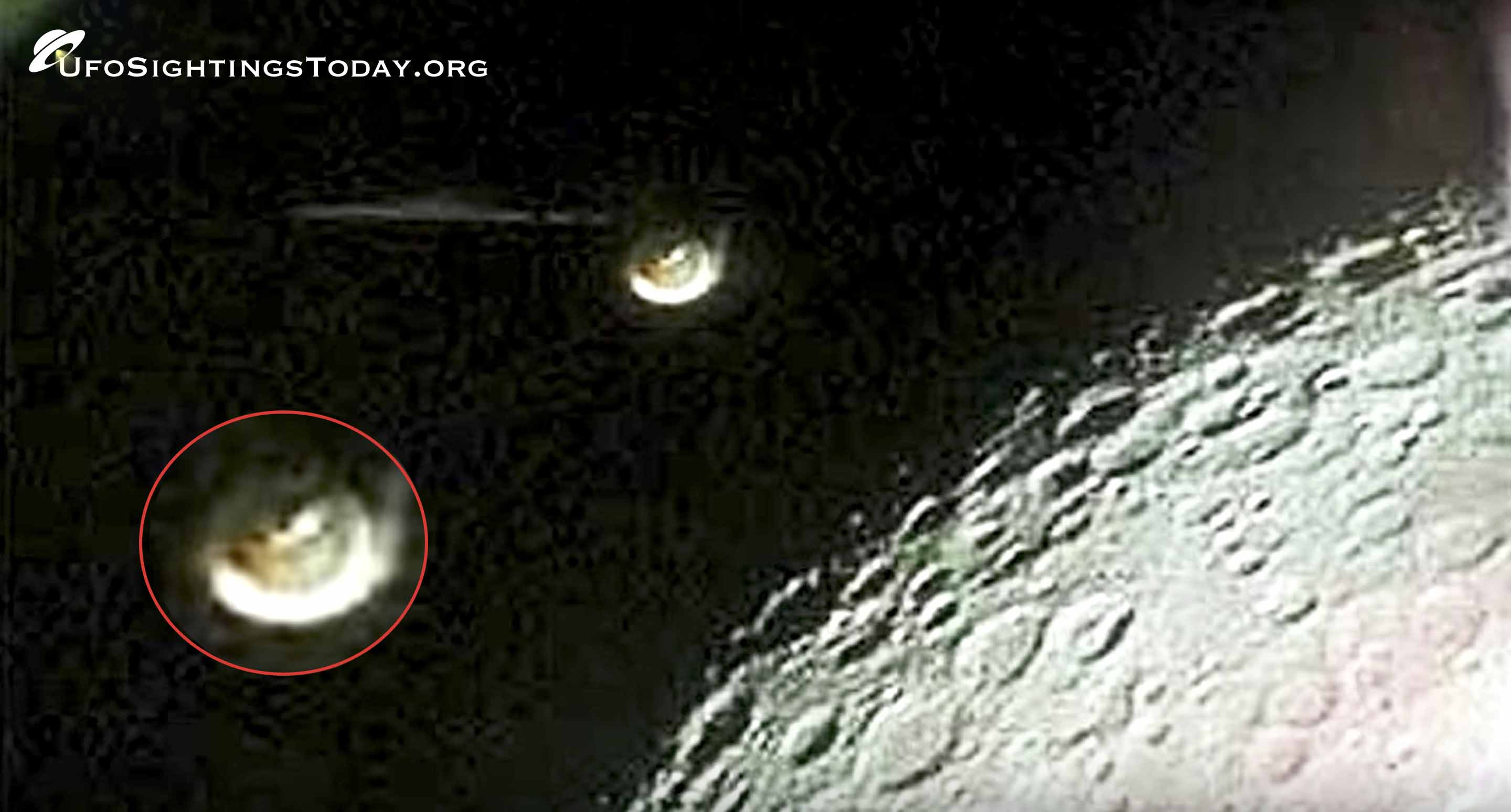 apollo 16 ufo on the moon