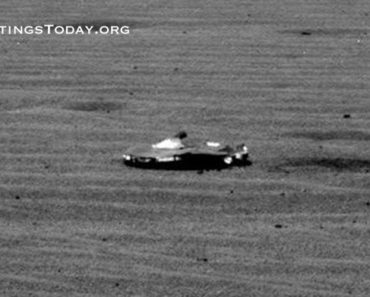 NASA Leak UFO wreck found on Mars