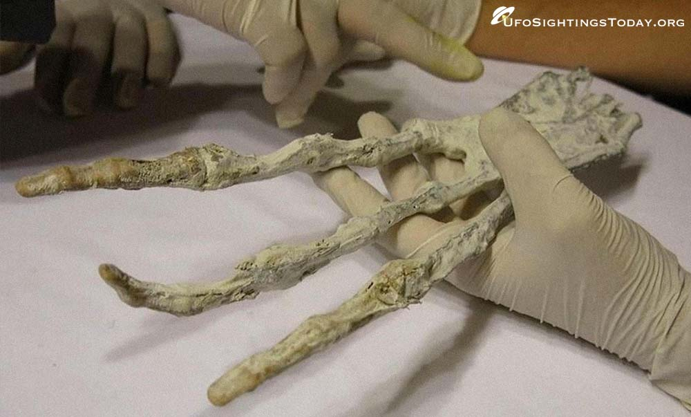 mummified aliens of nazca