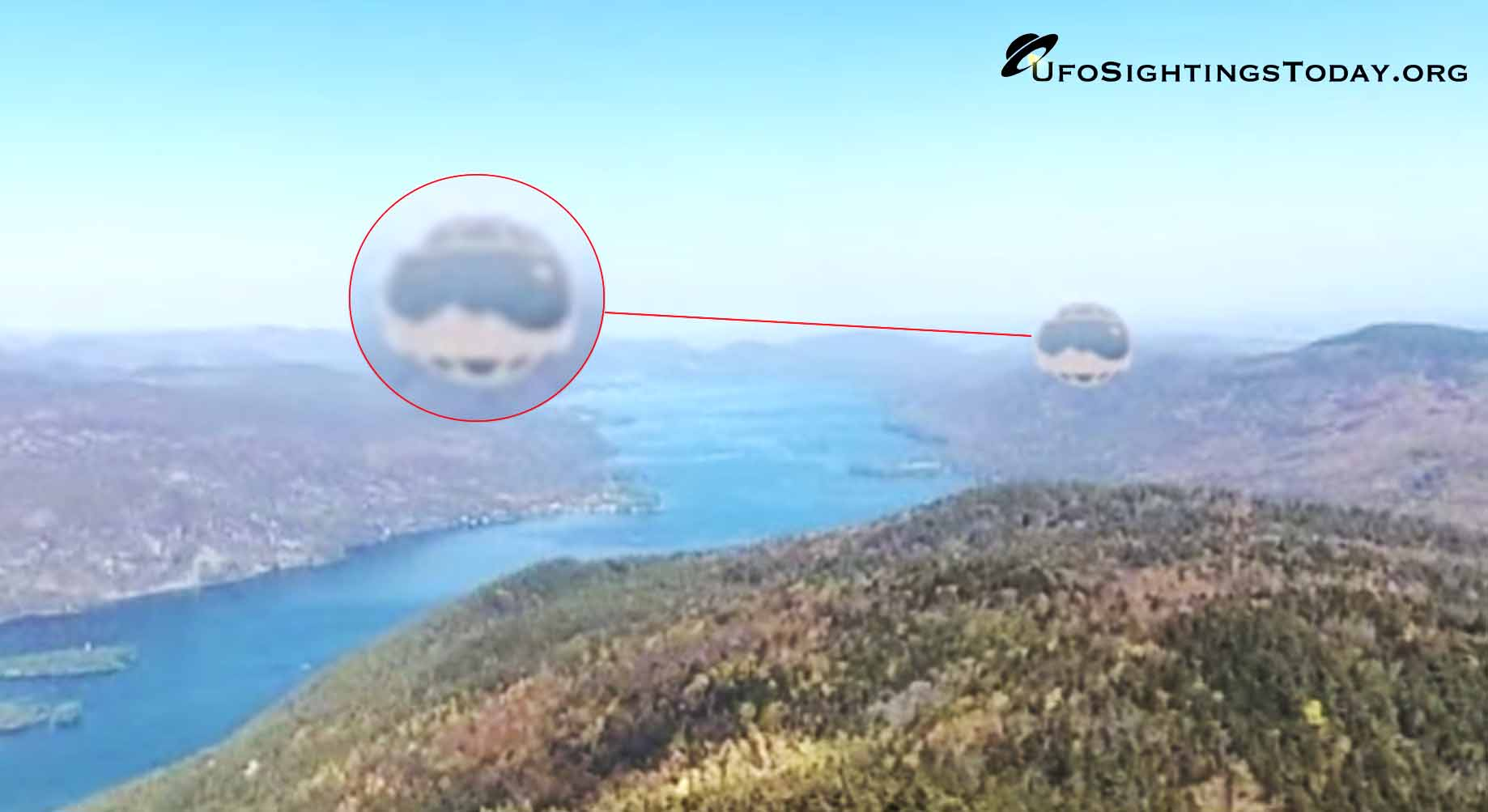 spherical ufo sighted on google maps