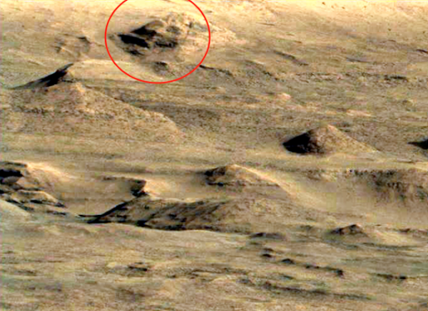 ancient alien city on mars
