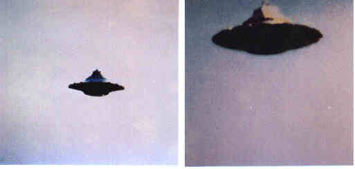 beamship ufo flying