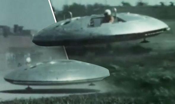 real ufo landed