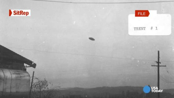 ufo caught on camera old photo
