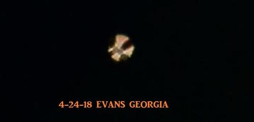 ufo evans georgia 4-24-18