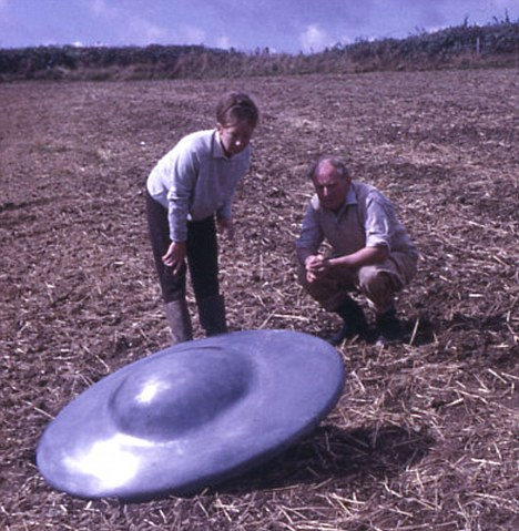 ufo found inspection